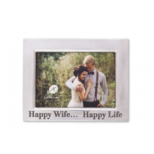Happy Wife 5x7 Frame