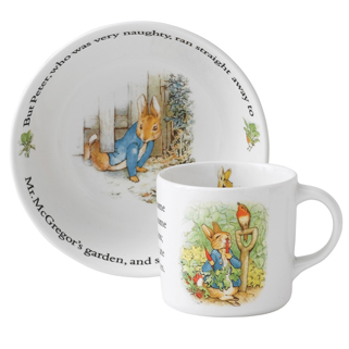 July 28 is Beatrix Potteru0027s Birthday  sc 1 st  Gracious Style : beatrix potter dinnerware - pezcame.com