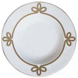 Brandebourg Matte Gold Soup Plate 24 Cm (Special Order) | Gracious Style