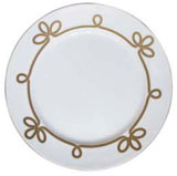 Brandebourg Matte Gold Flat Dish 31.5 Cm (Special Order) | Gracious Style