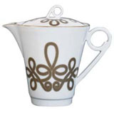 Brandebourg Matte Gold Large Tea/Coffeepot 99 Cl (Special Order) | Gracious Style