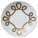 Brandebourg Matte Gold Rimless Bread & Butter Plate 16 Cm (Special Order) | Gracious Style