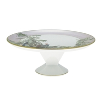 Le Bresil Footed Cake Platter Diam 31,5 - H : 12,6 | Gracious Style