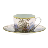 Le Bresil Cappuccino Cup & Saucer Cyl Diam 16,9 - 30Cl - H : 7,2 | Gracious Style
