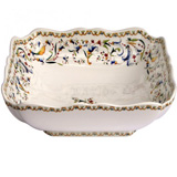 Toscana Squarefruit Dish 9 1/2 In X 9 1/2 In | Gracious Style