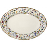 Toscana Oval Platter 4 13 1/2 In Dia | Gracious Style