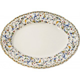 Toscana Oval Platter 6 15 1/2 In X 11 1/2 In | Gracious Style