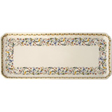 Toscana Oblong Serving Tray 14 In Long | Gracious Style