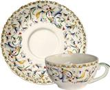 Toscana tea cup & saucer 6 3/4 oz, 6