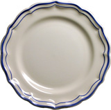 Filet Bleu Dessert Plate 9 In Dia | Gracious Style