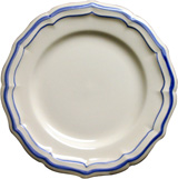 Filet Bleu Canape Plate 6 1/2 In Dia | Gracious Style