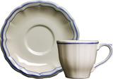 Filet Bleu Single Set Us Tea Cup & Saucer 8 1/2 Oz, 6 In Dia | Gracious Style
