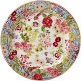 Millefleurs Canape Plate 6 1/2 In Dia | Gracious Style