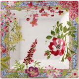 Millefleurs Square Candy Tray Xl 8 3/4 In Sq | Gracious Style