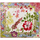 Millefleurs Square Plate 11 1/2 In X 10 1/2 In | Gracious Style