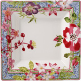 Millefleurs Large Square Candy Tray 6 3/4 In Sq | Gracious Style