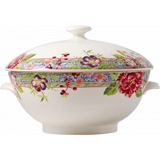 Millefleurs Soup Tureen 3 1/4 In Qts | Gracious Style