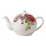 Millefleurs Teapot 1 1/3 Qt | Gracious Style