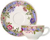 Millefleurs Single Set Breakfast Cup & Saucer | Gracious Style