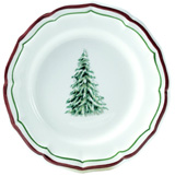 Filet Noel Canape Plate 6 1/2 In Dia | Gracious Style