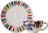 Eden breakfast cups & saucers 11 oz - 7 1/2