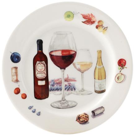 Bouquet Wine bottle coasters 5  sc 1 st  Gracious Style & Gien France Bouquet Wine Dinnerware | Gracious Style
