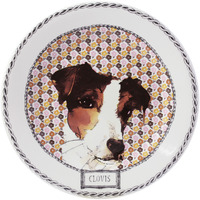 Darling Dog Dessert Plates Assorted 8 2/3 In Dia, Set Of 4 | Gracious Style