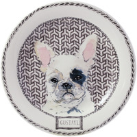 Darling Dog Canape Plates Assorted 8 2/3 In Dia, Set Of 4 | Gracious Style
