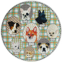 Darling Dog Cake Platter 12 In Dia | Gracious Style