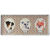 Darling Dog Oblong Serving Tray 14 In Long | Gracious Style