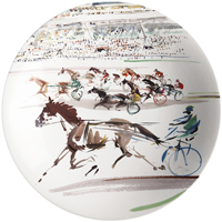 Cavaliers Cake Platter 12 In Dia | Gracious Style