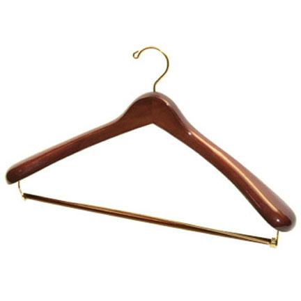 Dark Wood Luxury Suit Hanger