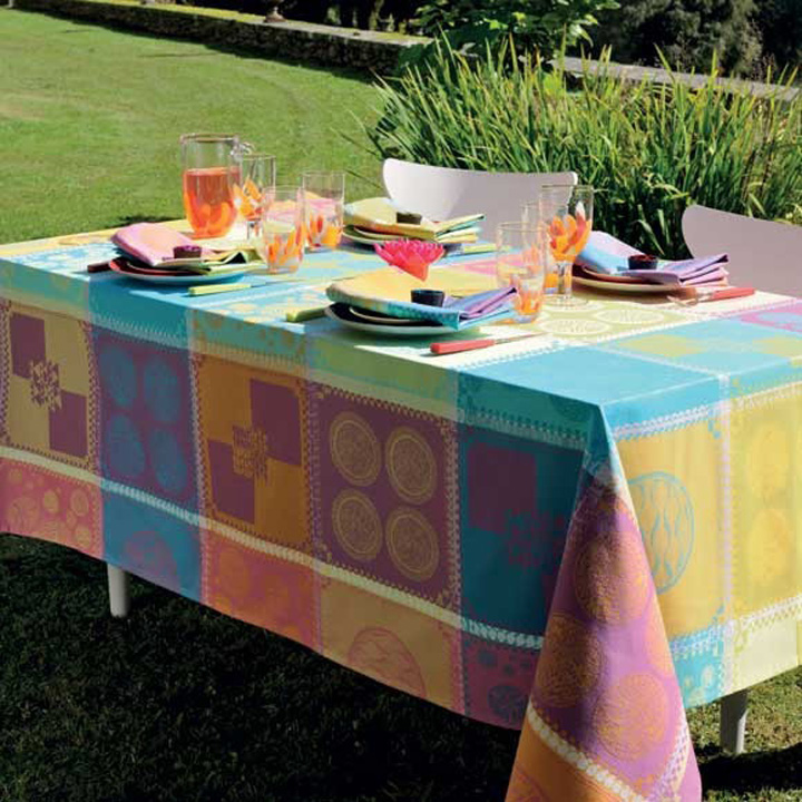 Garnier-Thiebaut Mille Batik Table Linens