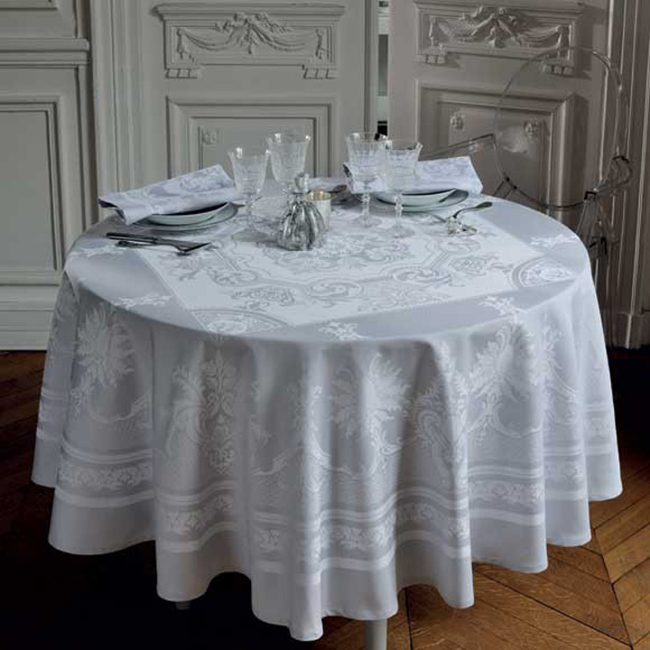 Garnier-Thiebaut Beauregard Galet Table Linens