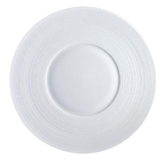 Hemisphere White Dessert Plate 8.25 in Round | Gracious Style