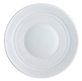 Hemisphere White Bread & Butter Plate 6.25 in Round | Gracious Style