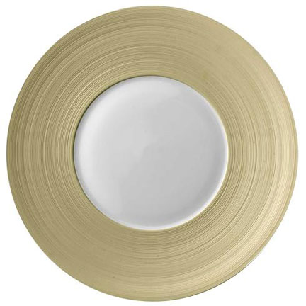 Hemisphere Beige Charger | Gracious Style  sc 1 st  Gracious Style & J.L. Coquet Hemisphere Beige Dinnerware | Gracious Style