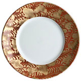 Trois Ors Red Dinnerware