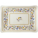 Toscana Acrylic Serving Tray Small 14 9/16 In X 11 1/8 In | Gracious Style