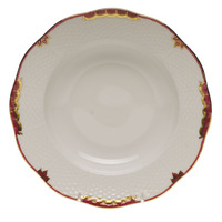 Princess Victoria Pink Rim Soup Plate 8
