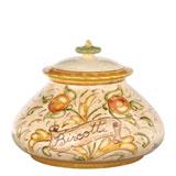 Affresco Biscotti Jar   Gracious Style