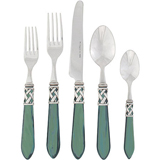 Aladdin Green Antique Five-Piece Place Setting | Gracious Style