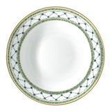Allee Royale Deep Chop Plate/ Pasta Server 11.5 in Round | Gracious Style