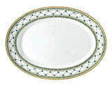 Allee Royale Oval Platter 14.25 in x 10.25 in | Gracious Style