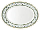 Allee Royale Oval Platter 16 in x 11.75 in | Gracious Style
