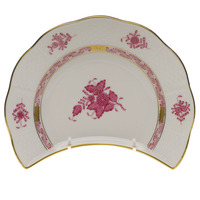 Chinese Bouquet Raspberry Crescent Salad Plate  7.25