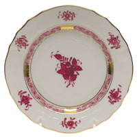 Chinese Bouquet Raspberry Bread And Butter Plate 6