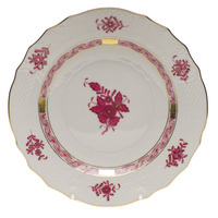 Chinese Bouquet Raspberry Salad Plate  7.5