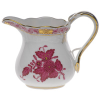 Chinese Bouquet Raspberry Creamer  (4 Oz) 3.25