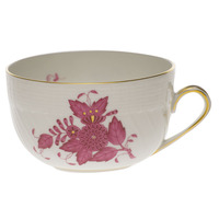 Chinese Bouquet Raspberry Canton Cup  (6 Oz) | Gracious Style